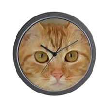 Cute Cat paintings Wall Clock