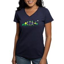 Evolution of Brazil Football Shirt