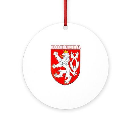 Bohemia, Czech Republic Ornament (Round)