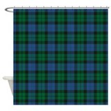 Clan mackay Shower Curtains