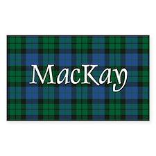 Tartan - MacKay Decal