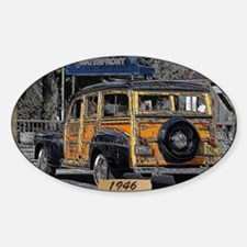 1946 Woody Decal