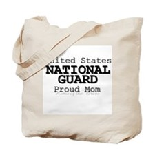 Proud National Guard Mother Tote Bag