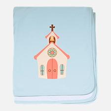 Love Chapel baby blanket