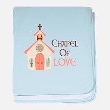 CHAPEL OF LOVE baby blanket