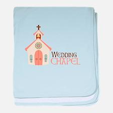 WEDDING CHAPEL baby blanket
