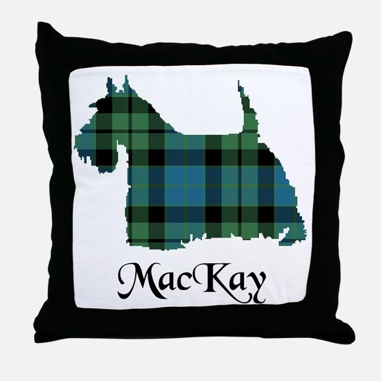 Terrier - MacKay Throw Pillow
