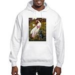 Windflowers & Black Lab Hooded Sweatshirt