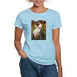 Windflowers & Black Lab Women's Light T-Shirt