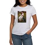 Windflowers & Black Lab Women's T-Shirt