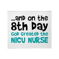 NICU Nurse Creation Throw Blanket