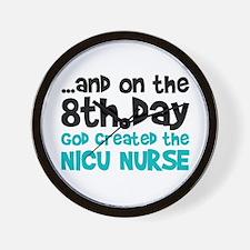 NICU Nurse Creation Wall Clock