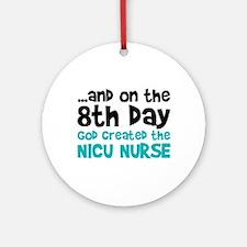 NICU Nurse Creation Ornament (Round)
