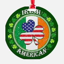 Irish American Ornament