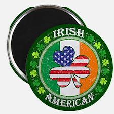 "Irish American 2.25"" Magnet (10 pack)"