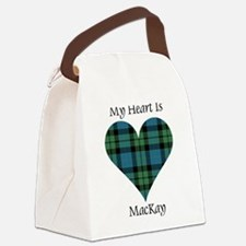 Heart - MacKay Canvas Lunch Bag
