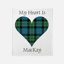 Heart - MacKay Throw Blanket