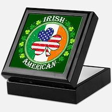 Irish American Keepsake Box