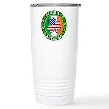 Irish American Travel Mug