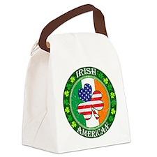 Irish American Canvas Lunch Bag