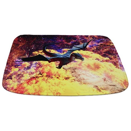 Planet of the Dragon Bathmat