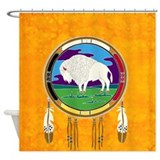 Native american shower curtains Shower Curtains