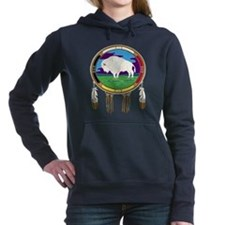 White Buffalo Women's Hooded Sweatshirt