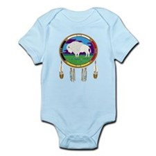 White Buffalo Infant Bodysuit