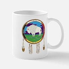 White Buffalo Mug