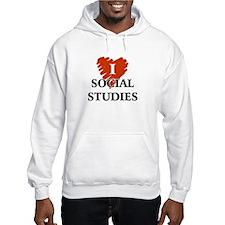 I Love Social Studies Hoodie
