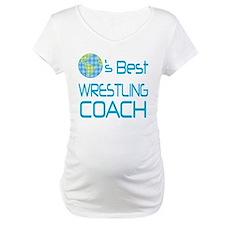 Earths Best Wrestling Coach Shirt
