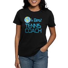 Earths Best Tennis Coach Tee