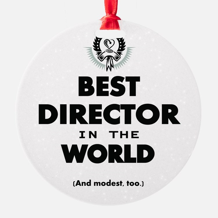 Best Director in the World Ornament