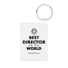 Best Director in the World Keychains