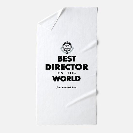 Best Director in the World Beach Towel