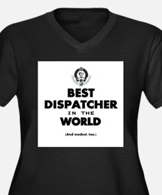Best Dispatcher in the World Plus Size T-Shirt