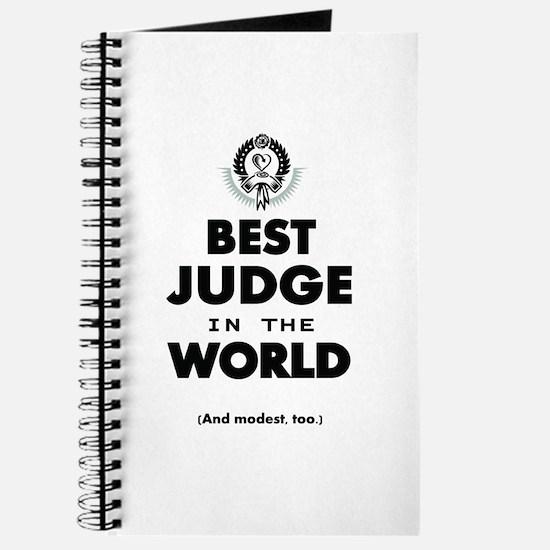 Best Judge in the World Journal