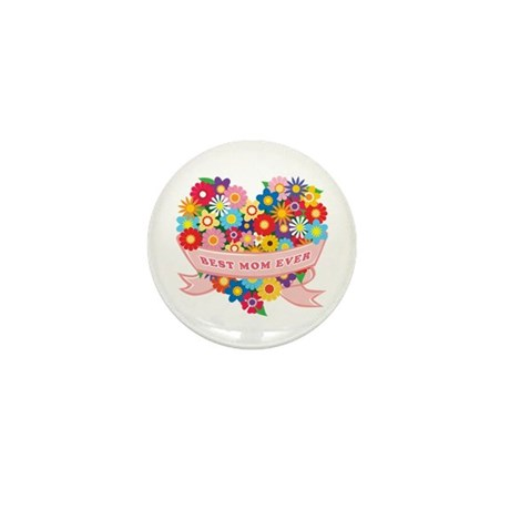 Best Mom Ever Mini Button (100 pack)