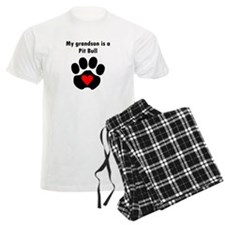 My Grandson Is A Pit Bull Pajamas