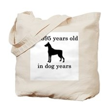 85 birthday dog years doberman Tote Bag