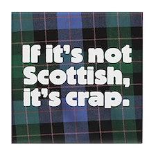 Scottish Tile Coaster