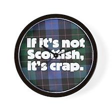 Scottish Wall Clock
