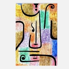 Klee - Archangel, a Paul  Postcards (Package of 8)