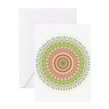 Bright Blessings Mandala Greeting Cards