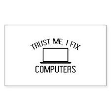 Trust Me, I Fix Computers Decal