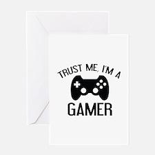 Trust Me, I'm A Gamer Greeting Card
