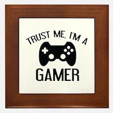 Trust Me, I'm A Gamer Framed Tile