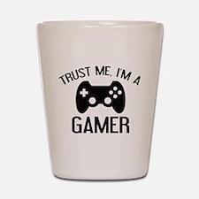 Trust Me, I'm A Gamer Shot Glass
