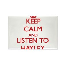 Keep Calm and listen to Hayley Magnets