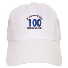 100 year old birthday designs Baseball Cap